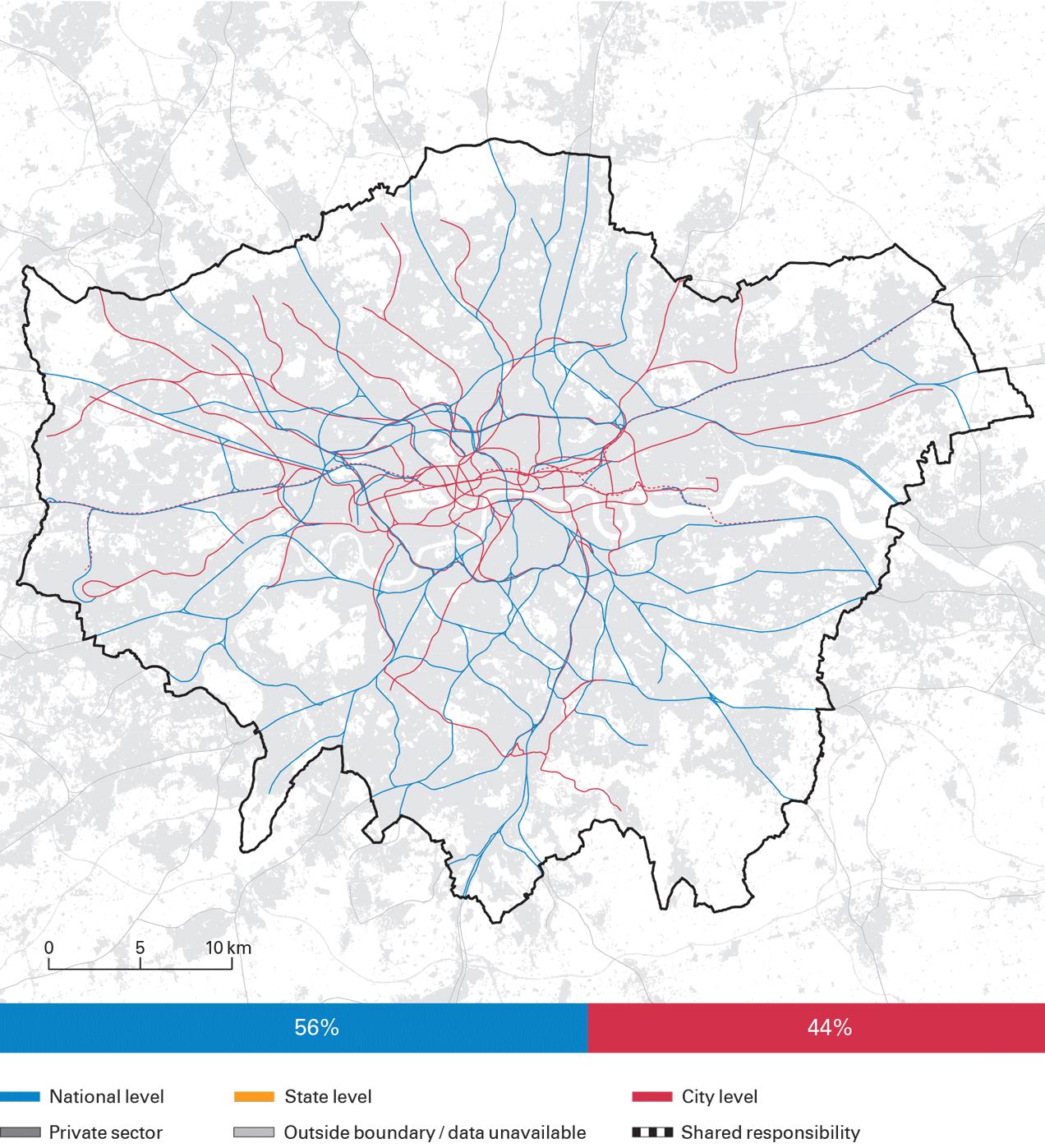 London City Bus Map.Rail And Bus Rapid Transit Brt Infrastructure London Data